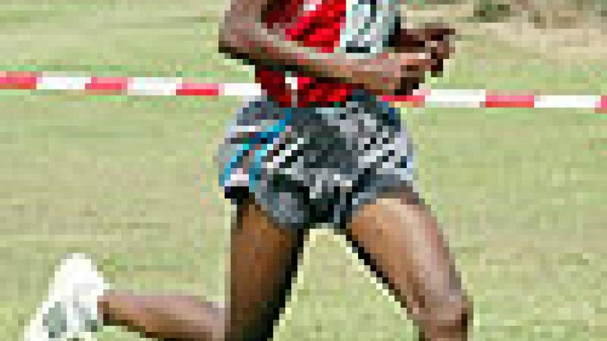 Godfrey Rutayisire is one of Rwanda's top athletes expected to compete at this year's Rendezvous National.