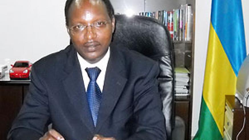 Minister of State in charge of Energy, Dr. Albert Butare