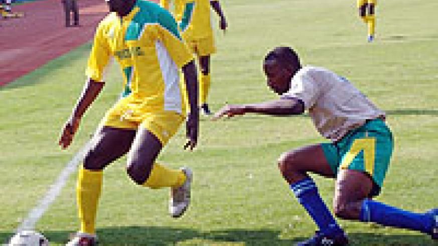 PASSED TRIALS:  Bagoole (L) is set to join DRC's AS Vita after passing trials.