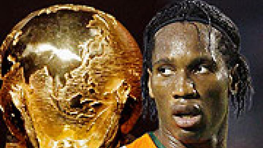 Didier Drogba's Ivory Coast have a tough task at hand after being drawn in Group G with Brazil and Portugal.