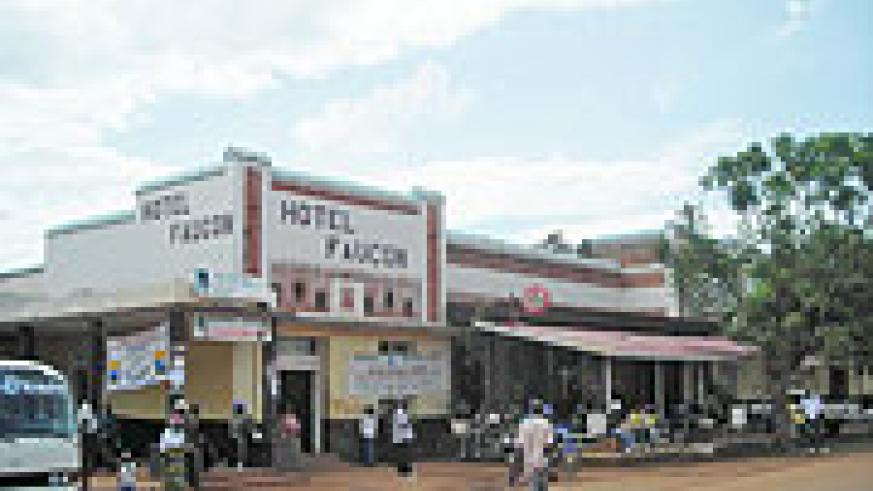 Hotel Faucon in Butare town could be demolished in a new town re-development plan. (Photo: P. Ntambara)