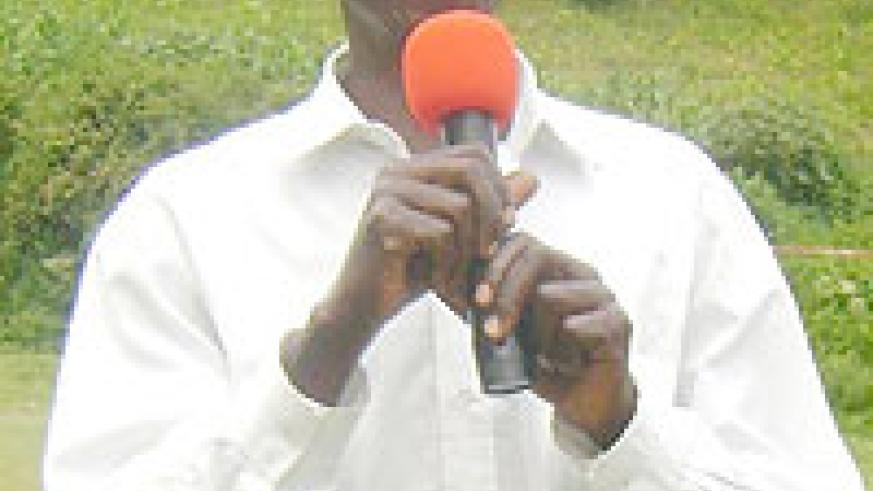 REFORMED: Francois Ndangamira killed during the Genocide but is now a reformed man.