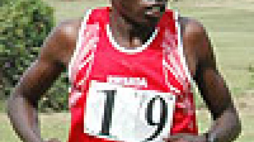 Disi wnats to set a new full marathon record and become a legend in Rwandan athletics history
