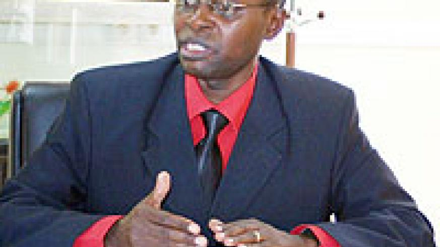 Dr. Mathias Harebamungu, State Minister for Higher and Primary Education. (File photo)