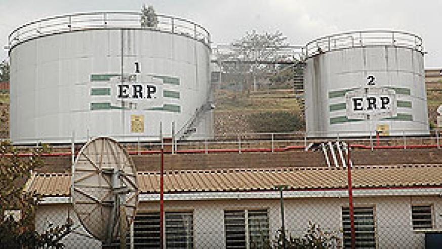 HOLDING CAPACITY STILL WANTING: Fuel storage tanks at Kigali, Gatsata are some of the facilities that are expected to be expanded. (File photo)