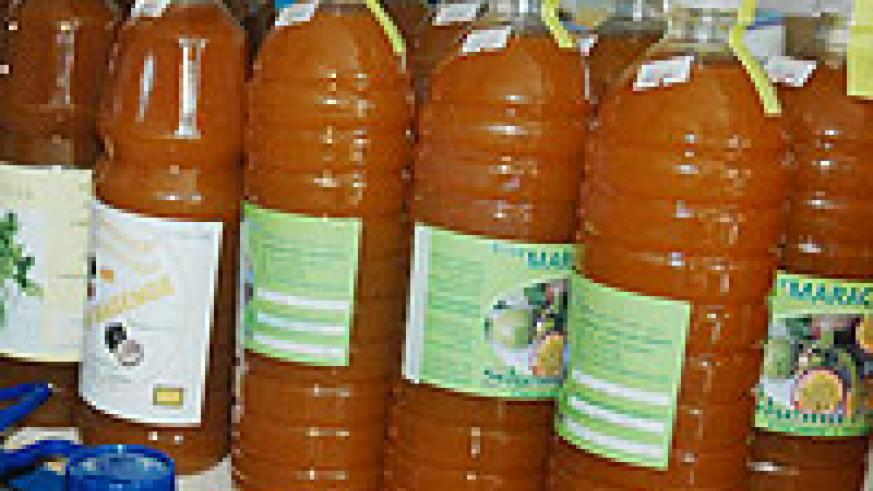 Some of Rwanda's horticulture products