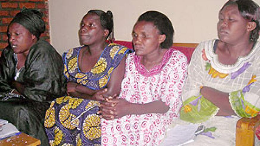 Determined to succeed in Business- women who attended entreprenuership training.(Photo / B. Mukombozi)