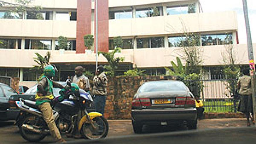Sonarwa head office in Kigali: insurers optimistic about the new law.(File photo)