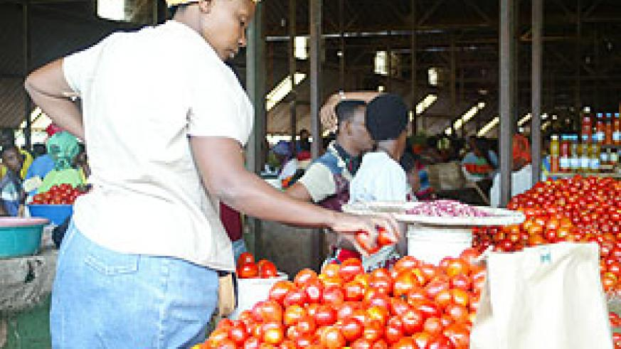 The project will enable farmers compare market prices by the use of a mobile phone. (File Photo)