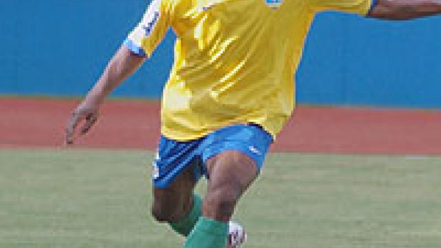 APR and Rwanda international defender Kapet is a doubt for Saturday's clash with Recreativo. (File photo)