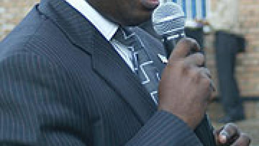 PROJECT COORDINATOR: Pascal Nyamurinda. (File photo)