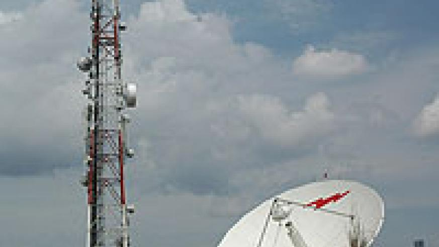 Telecom mast: The competition in the industry has led to increased investment into the infrastructure network. (file photo)