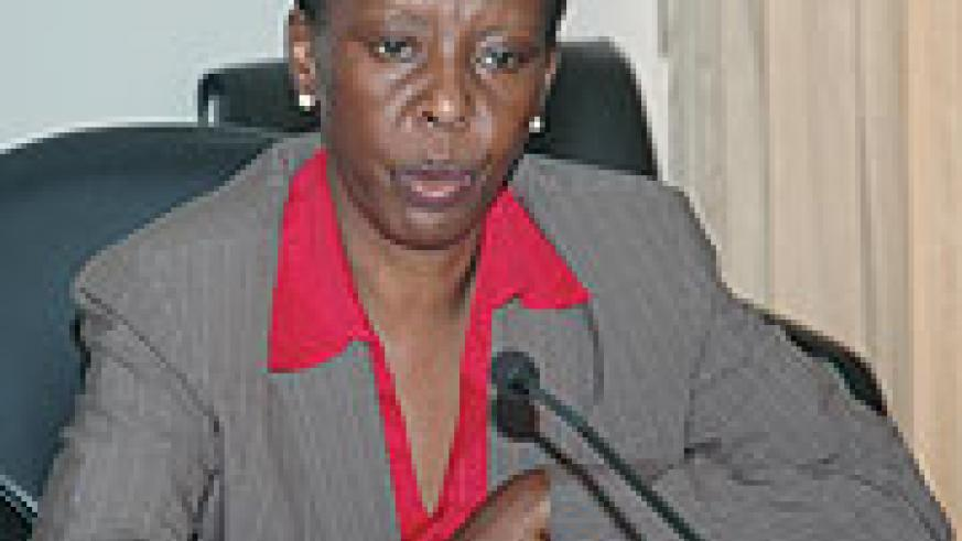 Foreign Affairs Minister Louise Mushikiwabo. (File Photo)