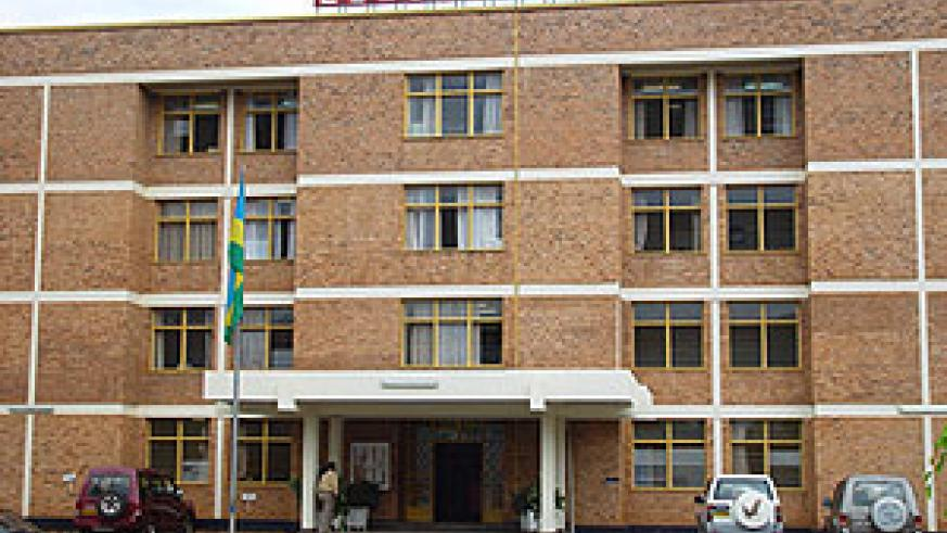 Reco/Rwasco, former Electrogaz, headquarters in Kigali. Reco/Rwasco must respond to customer problems in a more timely manner.