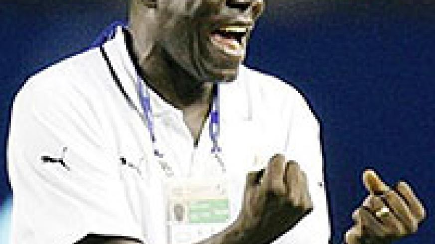 NEW MAN AT THE HELM: Sellas Tetteh