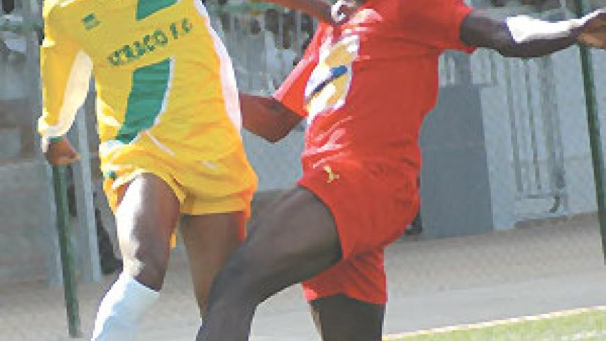 Players like Joseph Kabagambe (L) left a huge void at Atraco.(File photo)