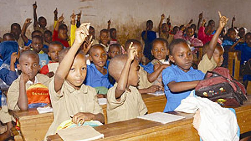 Free primary education has proved to be a giant step forward for access to education by millions of children.