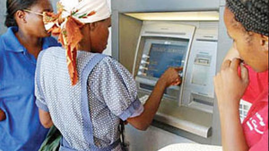 There are not enough ATM's in Kigali. Banks must do something about the situation