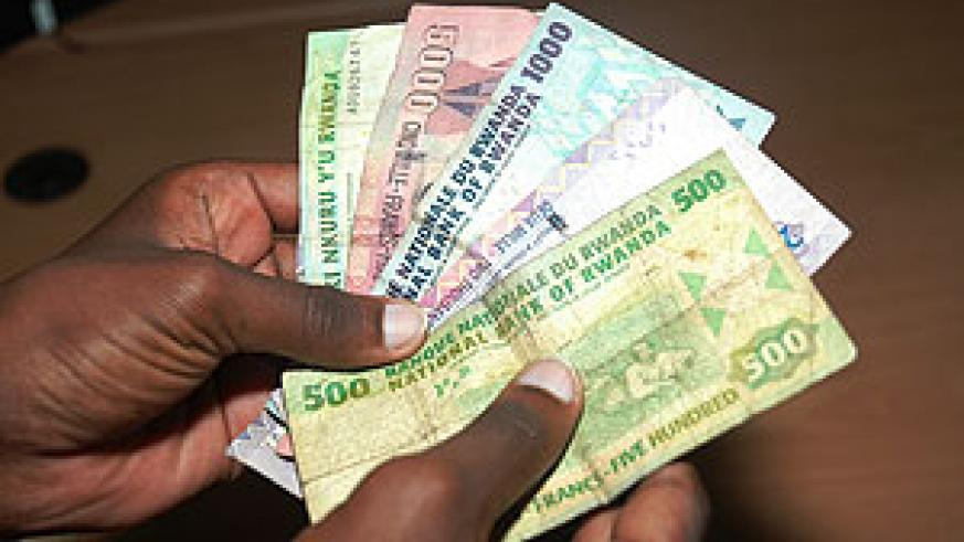 The Rwandan francs, stable currency.
