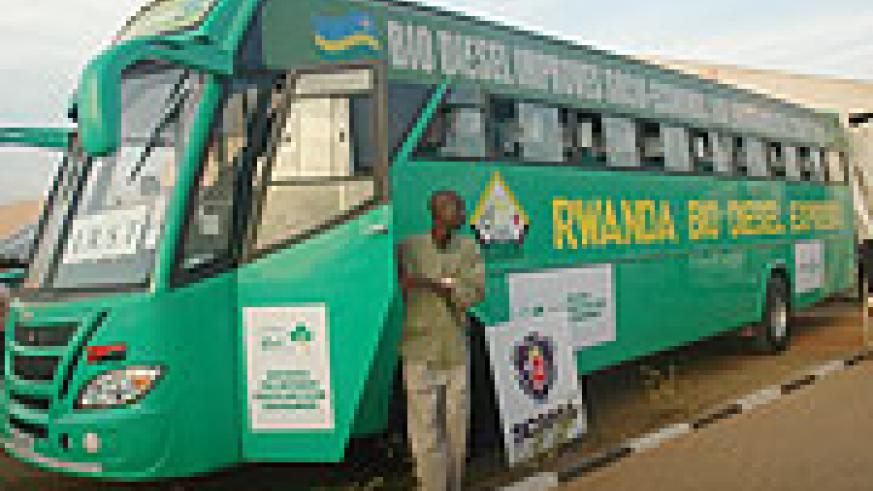 The Bio-Diesel bus first went on display during last year's Expo (File Photo)