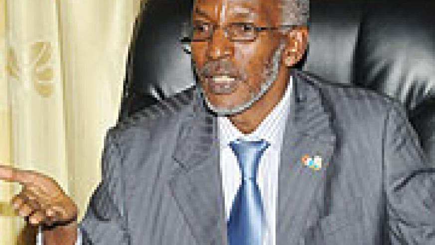 REVEALED; RPF Secretary General François Ngarambe. (File photo)