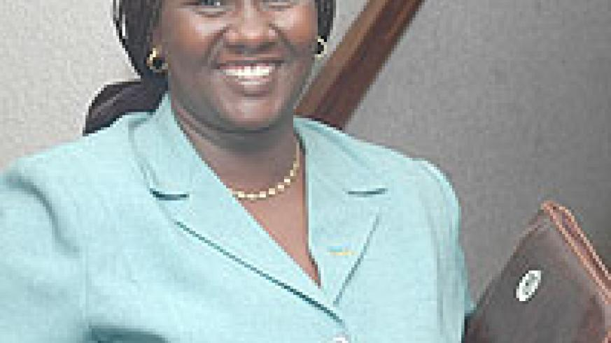 Julienne Uwacu the new chairperson of the Security Committee. (Photo / F. Goodman)