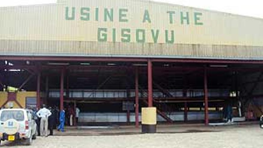 Gisovu Tea factory is said to be improving the lives of its employees. (Photo: S. Nkurunziza)