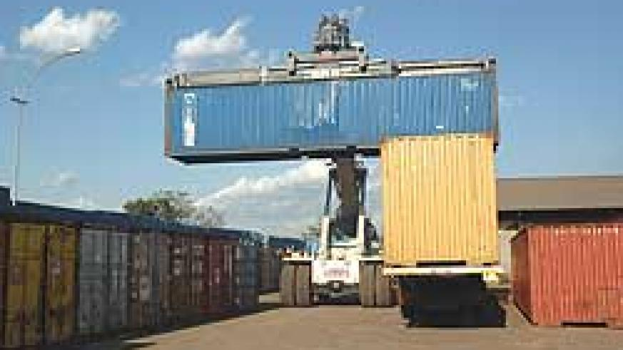 Cargo being offloaded at Magerwa. (File photo)