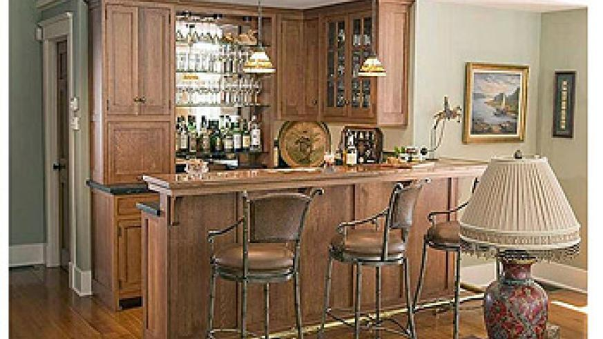 Ideal Interiors: Decorate Your Home Bar In Sytle