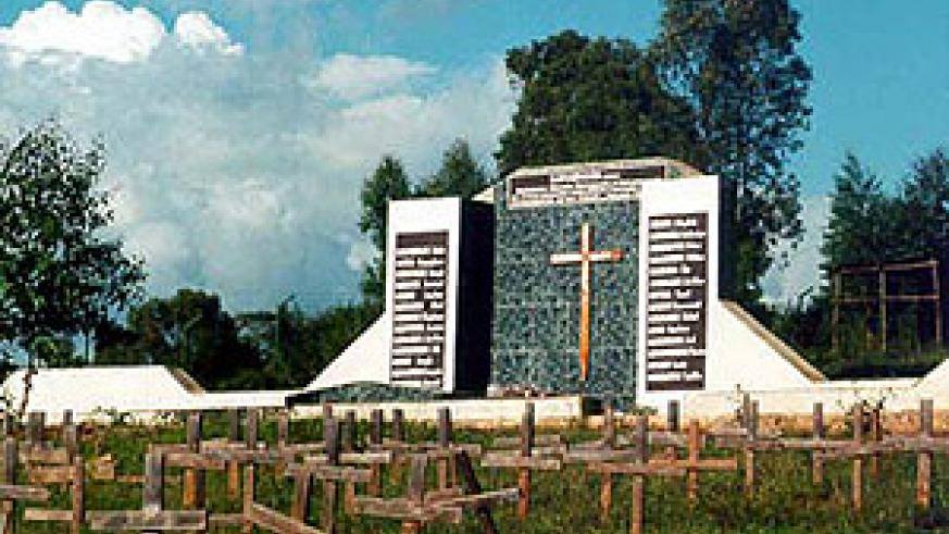 A Genocide memorial. Attacks on survivors must be fought by all right minded Rwandans
