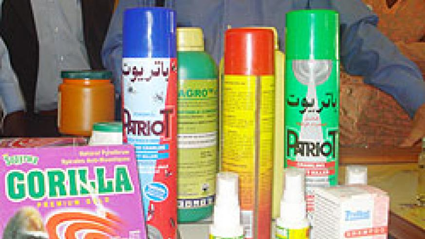 Some of the pyrethrum products that are exported by SOPYRWA. (File Photo)