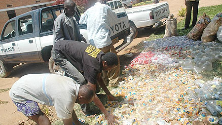 Impounded Drugs about to be destroyed. (File Photo)