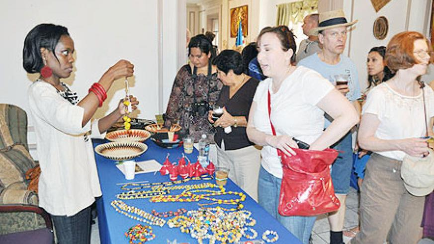 Commendable. Open house at the Rwandan embassy in the US.