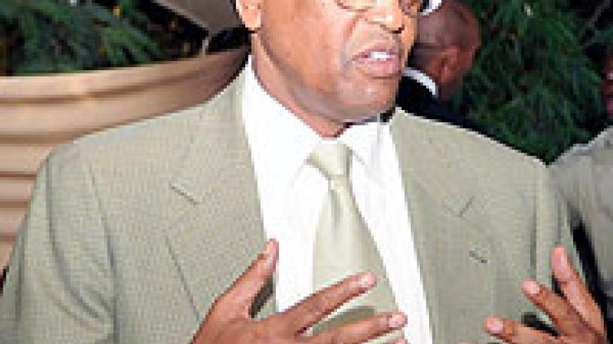 NUR Rector Professor Silas Lwakabamba. (File photo)