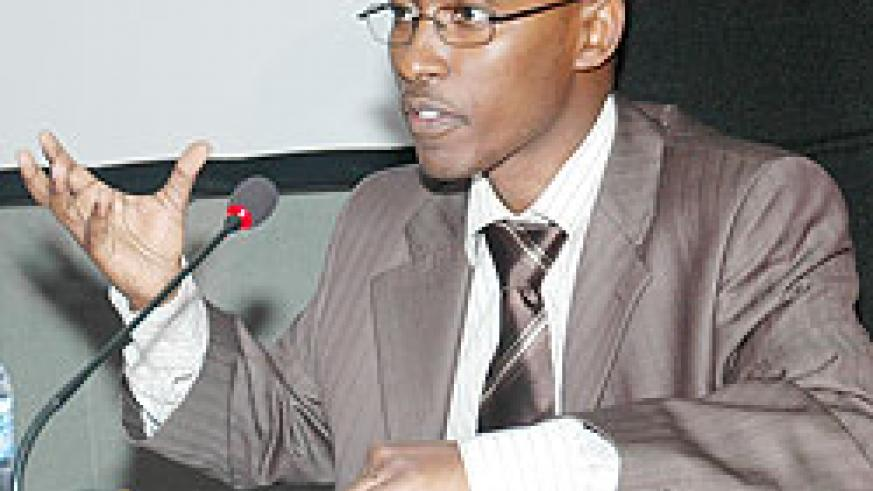 ICT Minister in the President's office, Ignace Gatare. (File photo)