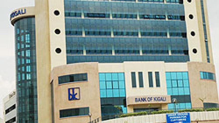 The main headquarters of BK. The bank has vowed to boost remittences from Rwandans in the Diaspora (File Photo)