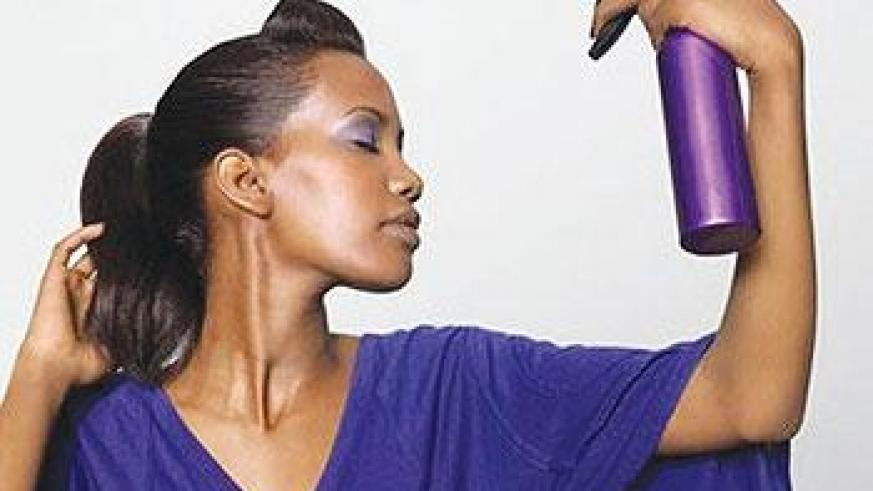 All women have had bad hair days, but expensive products are not the only solution to frizziness, flyaways or split ends. Net photo.