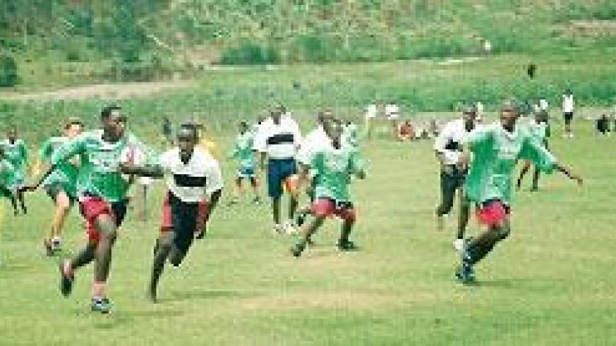 A schools' tournament in 2004. Courtesy photo
