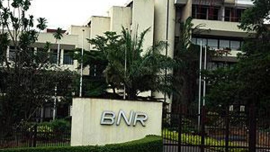 The head office of Rwanda's Central Bank, BNR. The New Times / File