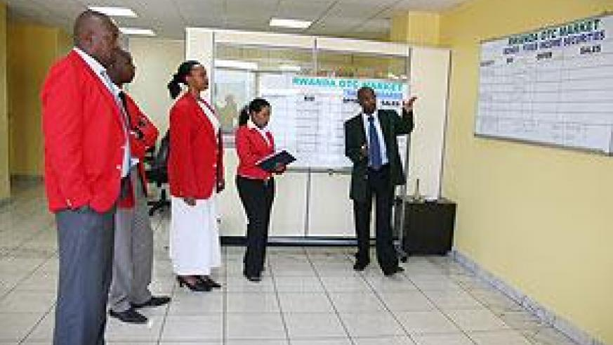 The competition was aimed at creating awareness on Capital Markets. The New Times / File.