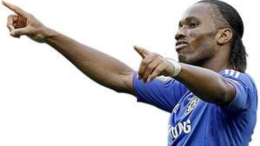Didier Drogba is Chelsea's fourth highest goal scorer with 151 goals
