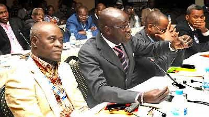 Participants at the recently concluded meeting of insurers. The New Times /John Mbanda