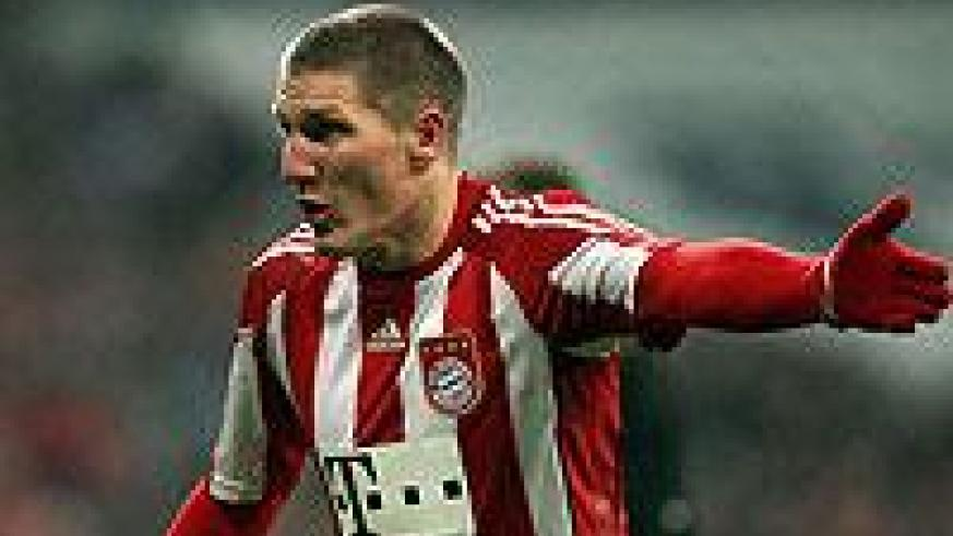 Bayern midfielder Bastian Schweinsteiger is expected to play against Bayer Leverkusen today. Net photo.