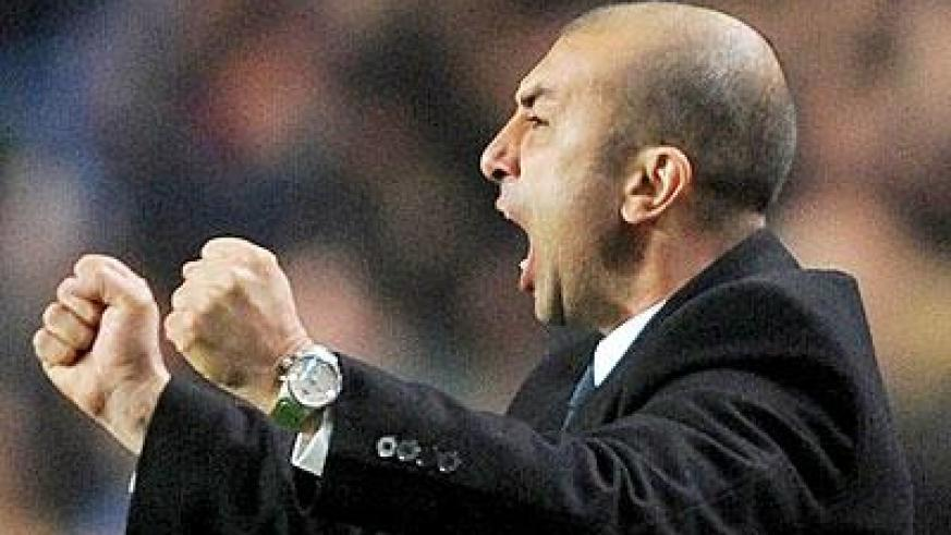 Roberto Di Matteo is hoping to guide Chelsea into the Champions League semi-finals. Net photo.