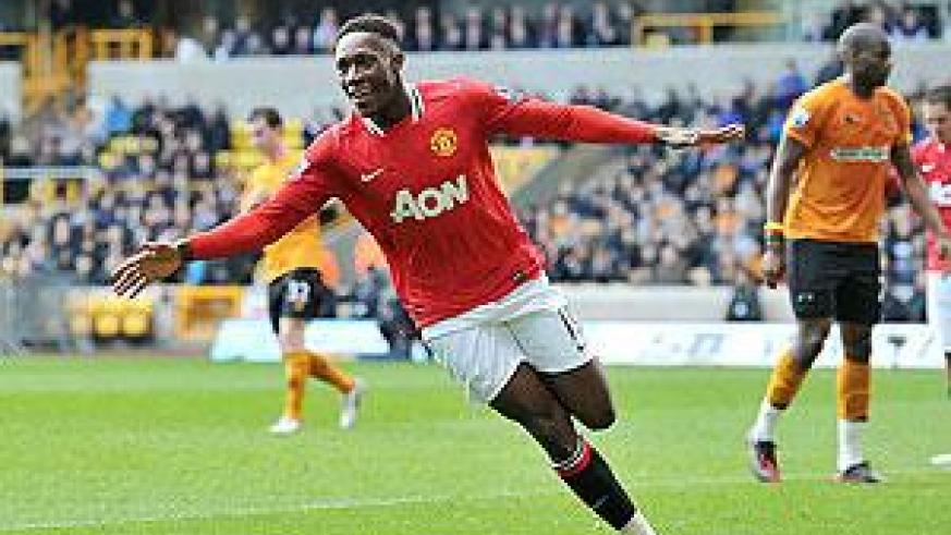 Danny Welbeck added a third for United on the stroke of half-time. Net photo.