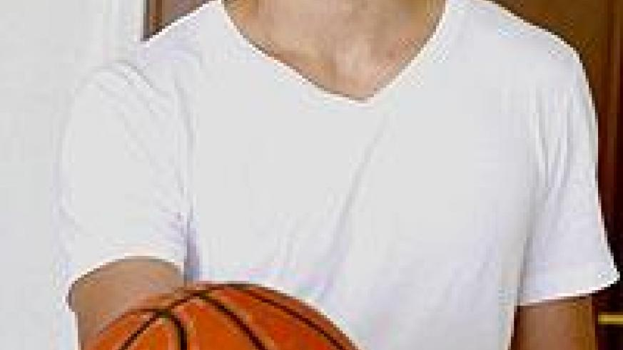 Coach Ryan Turcott was introduced to basketball right from childhood. The New Times/ T. Kisambira