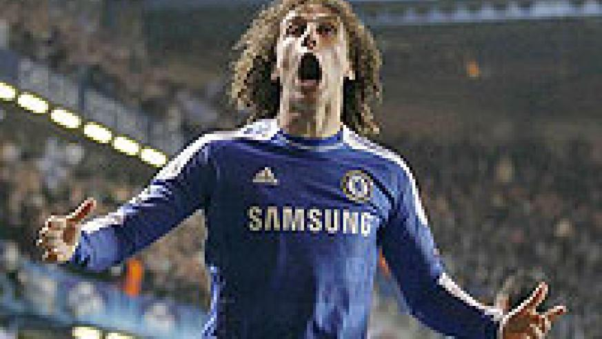 Crowd favourite; Luiz has become a hit with the Chelsea fans since his big-money move