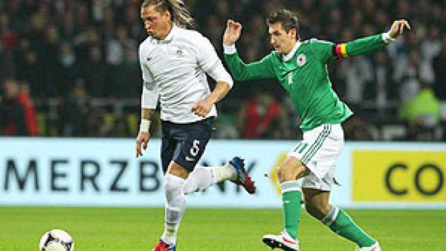 Miroslav Klose during a previous game.