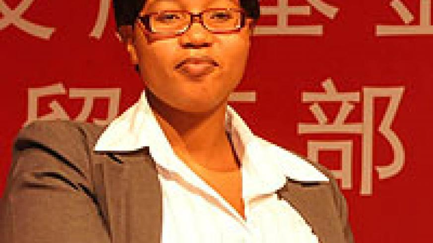 Deputy Minister of South African Trade and Industry Elizabeth Thabethe.