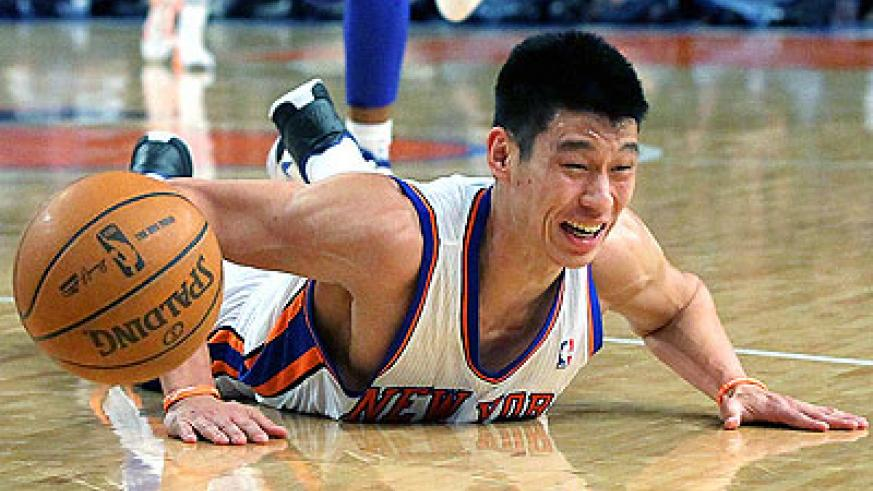 Jeremy Lin has missed the last three games with a knew injury. Net photo.